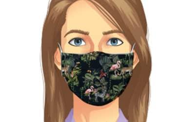 Masques de protection réutilisables et personnalisables